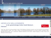 Kultur im Märkisch-Oderland