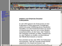 Kulturpalast Dresden erhalten