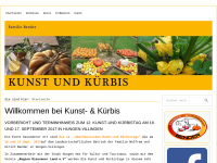 Kunst & Kürbis - Wolfram und Christine Bender
