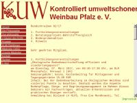 KUW Pfalz e. V. Kontrolliert umweltschonender Weinbau