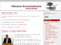 Mission Kwasizabantu