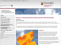 Klimawandelinformationssystem Rheinland-Pfalz (kwis-rlp)