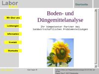 Labor für Boden und Düngemitteluntersuchungen Dr.H.D.Dürr und M.Dürr