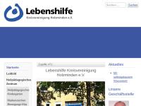 Lebenshilfe für Behinderte - Kreisvereinigung Holzminden e.V.