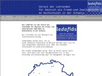 Lektoren und Lektorinnen Deutsch als Fremdsprache in der Schweiz (Ledafids)