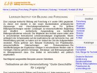 Leipziger Institut für Bildung und Forschung e.V.