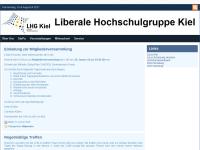 LHG - Liberale Hochschulgruppe Kiel