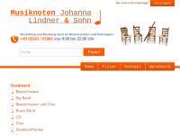 Musiknotenversand Johanna Lindner und Sohn