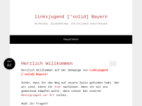 Linksjugend ['solid] Bayern