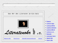Literatenohren im Internet: Katharina Rist