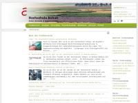 Fachbereich Landwirtschaft - Ökotrophologie - Landespflege der Hochschule Anhalt