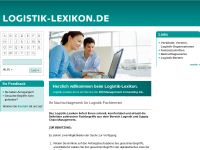 Logistik-Lexikon