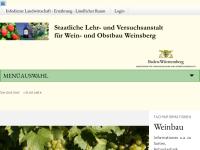 Staatliche Lehr- und Versuchsanstalt für Weinbau und Obstbau, Weinsberg