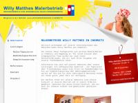 Maler Matthes in Chemnitz
