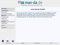 MANDA - Metropolitan Area Network Darmstadt