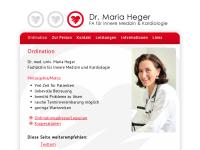 Dr. Maria Heger, Internist Wien - Fachärztin für Innere Medizin und Kardiologie, 1030 Wien