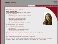 Marion Arnold Physiotherapie · Klangmassage