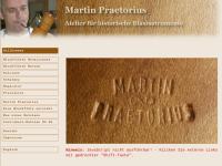Martin Praetorius, Atelier für historische Blasinstrumente