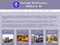 Maschinenbau Georg Deuringer