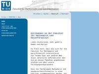 Fakultät für Mathematik und Geoinformation der Technischen Universität Wien