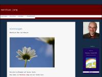 Predigten und Privates von Pfarrer Matthias Jung