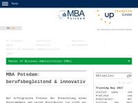 MBA Studiengänge der Uni Potsdam