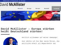 David McAllister, Ministerpräsident des Landes Niedersachsen