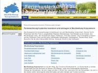 www.mecklenburg-web.de - Peter und Ingmar Barsch GbR