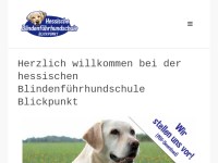 Blickpunkt hessische Blindenführhundschule