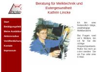 Beratung für Melktechnik und Eutergesundheit - Kathrin Lincke