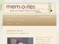 mem-o-ries.de | Bücher, Rezensionen und mehr