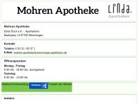 Mohren-Apotheke und Apotheke Weinmarkt