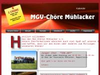 MGV-Chöre Mühlacker