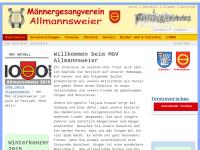 MGV Allmannsweier