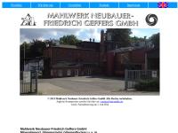 Mahlwerk Neubauer-Friedrich Geffers GmbH