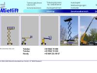 Mietlift Arbeitsbühnen GmbH