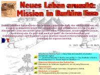 Mission in Burkina Faso