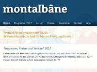 Montalbane - Internationale Tage der mittelalterlichen Musik
