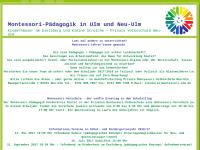 Montessori Ulm und Neu-Ulm