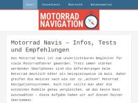 Motorrad-Navigation
