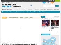Märkische Oderzeitung - Bernau (MOZ-Online)