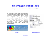 MS-Office-Forum