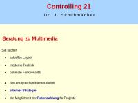 Multimedia-Beratung Dr. Joachim Schuhmacher