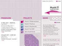 Musik 21 Niedersachsen - NGNM e.V.