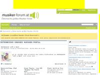 Musiker-Forum.at