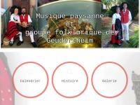 Musikverein und Tanzgruppe von Geudertheim