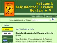 Netzwerk behinderter Frauen Berlin e.V.