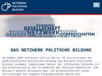 Netzwerk Politische Bildung