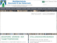 Gemeinde Neumarkt in der Steiermark