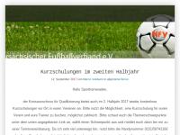 Niedersächsischer Fußballverband e.V. -- Kreis Schaumburg